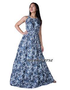 Women Plus Sizes Clothing Long Maxi Dress Floral by myuniverse