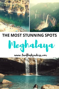 Read about the five of the best places to visit in Meghalaya. Gorgeous lakes, waterfalls and more for future travel inspiration. Cool Places To Visit, Places To Travel, Travel Destinations, Places To Go, India Travel, Us Travel, Family Travel, Travel Log, Travel Deals