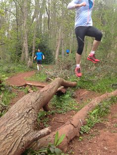 Out Trail Running With Salomon