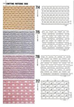 Best 11 Tina's handicraft : long-sleeve crochet shirt – SkillOfKing. Crochet Diy, Crochet Motifs, Crochet Chart, Crochet Stitches Patterns, Crochet Diagram, Crochet Basics, Filet Crochet, Stitch Patterns, Knitting Patterns
