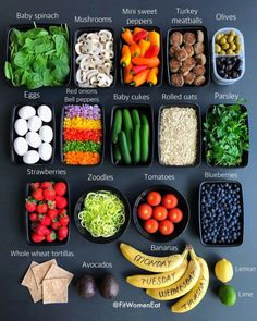 How To Make Your Mornings EASY: Breakfast Buffet Meal Prep like Fit Women Eat! Lunch Meal Prep, Healthy Meal Prep, Healthy Snacks, Healthy Eating, Sport Nutrition, Health And Nutrition, Muscle Nutrition, Nutrition Month, Nutrition Education