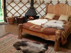 1 Bedroom Authentic Tipis & Yurts in Wales, North Wales, Machynlleth