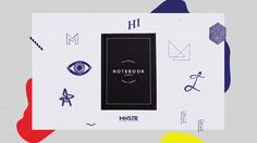 MNSTR x FRIENDS / CONNECTED NOTEBOOK  with   NIARK1 | Philippe Valette | OLIVIA DE BONA | Romain Laurent (Solab) | MATHEMATIC | PLAYGROUND STUDIO | Guillaume…