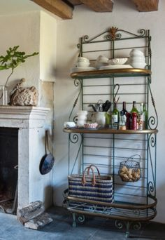 """This lovely rack is from our feature """"Bijou en Bourgogne"""""""