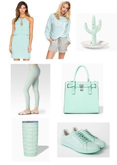Popular colors this Spring - Mint