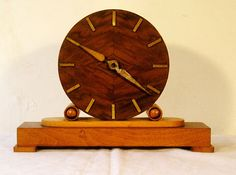 Vintage Deco Clock Germany. Made in America Occupied Germany- I have this clock