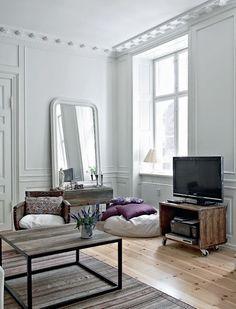 Decoration appartement haussmannien