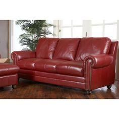 Luke Leather Weston Leather Sofa | Wayfair