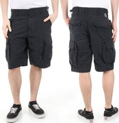 Cheap MENS / YOUTHS VANS JT SURPLUS CARGO COMBAT SHORTS (SURF CASUAL BEACH SPORTS) A5