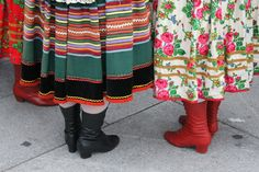 Polish folklore costume