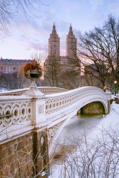 Central Park in the Snow, The San Remo, New York City, New York, by Joe Daniel Price on 500px