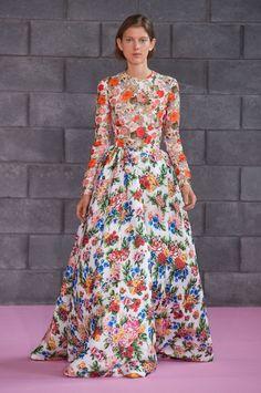 The Prettiest Dresses from London Fashion Week  - ELLE.com - Emilia Wickstead (=)