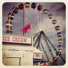 Ice Cream & Ferris Wheel, Seaside  (credit ⚓ René Marie Photography)