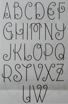Lettertype dat hoort bij de hazelnootjes