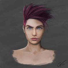 Face study by Francisco-Moraes on @deviantART