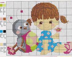 grafico-bebe-menina-500x400 55 gráficos de ponto cruz para bebês