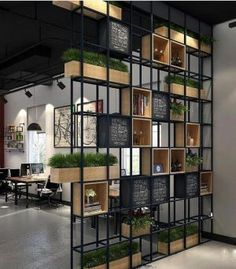 Looking for room divider design cheap? A room divider is practical and versatile. If you are unsure what to use, check out our room divider ideas here Ikea Room Divider, Metal Room Divider, Room Divider Shelves, Wooden Room Dividers, Living Room Divider, Space Dividers, Style Loft, Living Room Trends, Living Spaces