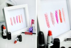 Here's a DIY for the makeup lover and the home decor enthusiast! This is a really easy project to try that requires an hour of your t...