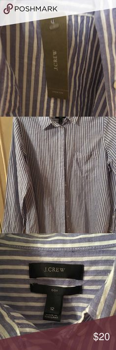J. Crew Shirt boys size 12 NWT Better get this one New with tags J. Crew Shirts Casual Button Down Shirts