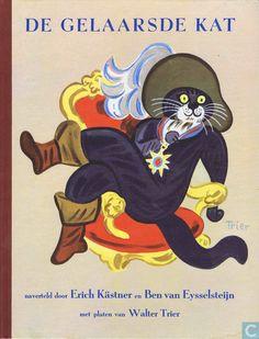 de gelaarsde kat boekomslag