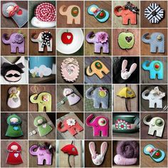 Good Luck Elephant Brooch by madebyagah on Etsy, $13.00