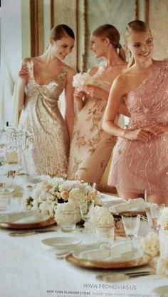 Different bridesmaid dresses