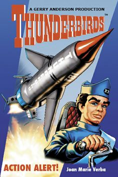 Action Alert by Joan Marie Verba is the second novel in the Thunderbirds series, featuring the character Scott Tracy. A Mom's Choice Award recipient. Christopher Eccleston, Old Tv Shows, Kids Shows, Doctor Who, Science Fiction, Thunderbirds Are Go, Retro Futuristic, Classic Tv, Animation