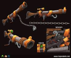 ArtStation - Sniper Rifle, Tiago Rabello