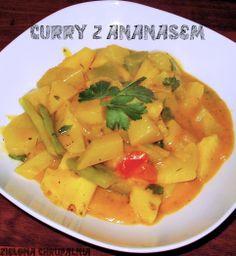 Zielona Chrupalnia : tajskie curry z ananasem