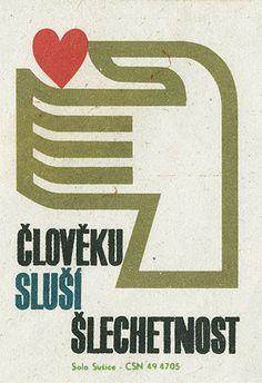 Czech matchbox label on Flickr - Photo Sharing!
