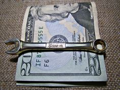 Snap-On Tools Money Clip 1/4 inch Wrench Money Clip