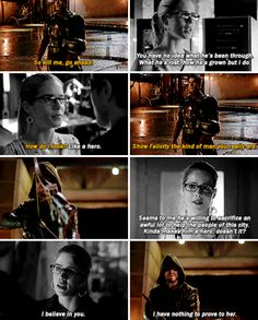 Arrow - Oliver & Felicity #Olicity <3<3<3 I really wanted to like Ray but they made him an ass