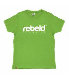 Camiseta Rebeld original verde lima #t-shirt #camiseta #green #verde