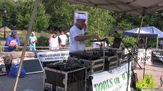 DJ Cash Money live @ Crotona Park Bronx,New York 2014