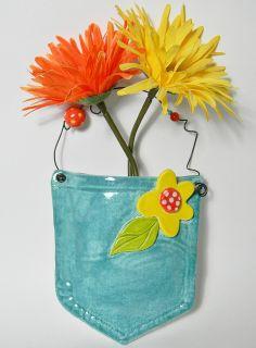 pocket vase clay project