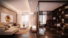 Interior render apartment.