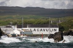 What a great view of the distillery from Lagavulin bay!