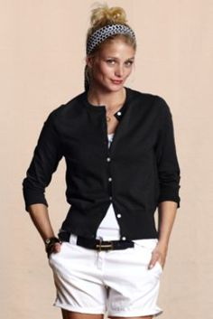 Women's Cafe Cardigan  from Lands' End Canvas on sale for 16 bucks!