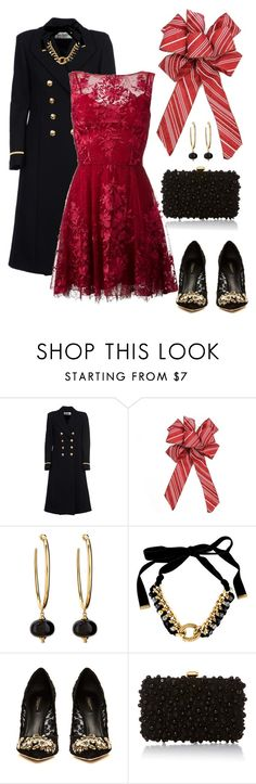 """Untitled #820"" by belinda54-1 ❤ liked on Polyvore featuring Yves Saint Laurent, Syna, Dolce&Gabbana, Elie Saab and Zuhair Murad"