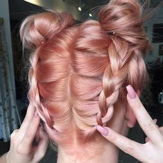 Cute way to keep your hair up this summer . Tag a friend who's Rock this look…