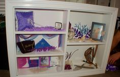 A larger photo of the Wedding shadow box.