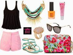 Para esta vacaciones que les parece intentar un look fresco para ir a la playa ¡Nos encanta!