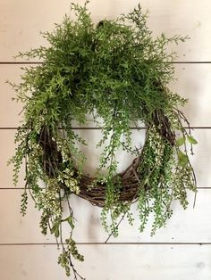 Excited to share this item from my shop: Feathered fern wreath, front door wreath, door wreath Christmas Mesh Wreaths, Christmas Door Decorations, Deco Mesh Wreaths, Holiday Wreaths, Floral Wreaths, Winter Wreaths, Spring Wreaths, Tulle Wreath, Greenery Wreath