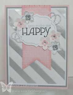 Striped Card...beautiful!