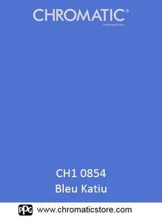 Finalisez votre projet #peinture avec le #Bleu #Katiu en vous rendant dans l'un de nos points de vente partenaires. Trouvez votre distributeur sur www.chromaticstore.com