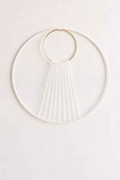 Sonadora Hemp + Brass Eclipse Wall Hanging - Urban Outfitters