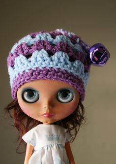 Jingle Bell Beanie by elifins :), via Flickr