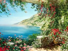 Liliana Frasca Oil Painting, scenic art