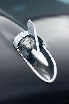 Cool Stuff We Like Here @ CoolPile.com ------- << Original Comment >> ------- 1957 Chevy Hood Ornamentation #Cars #Speed #HotRod