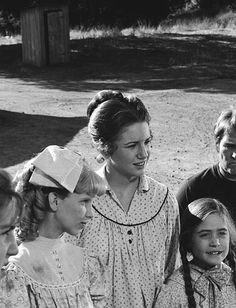 PRAIRIE 'For the Love of Nancy' Episode 9 Aired 11/30/81 Pictured Allison Balson as Nancy Oleson Melissa Gilbert as Laura Elizabeth Ingalls Missy...